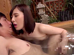 Horny Japanese craves for nasty things with handsome stranger