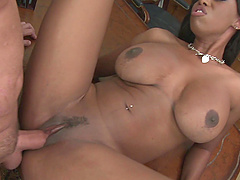 Before her friend destroys her cunt Jasmine Webb gives him a blowjob