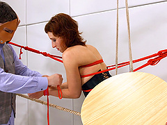 Mistress Margot and her friend like the humiliation and sex games