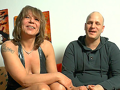 Mature lady deffinitely knows how to please more than one penis