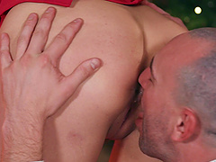 Nice fucking in the evening with cock hungry babe Whitney Wright