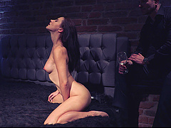 Video of naughty chick Aliana having some solo fun with her puss