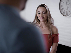 Hardcore fucking at home with desirable MILF Abigail Mac. HD