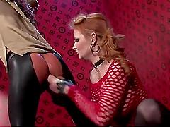 Hardcore Lesbian Bondage Action