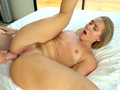Lovely AJ Applegate knows how to suck and ride a cock properly