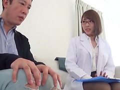 Hot ass Japanese girl drops her panties to be fucked from behind