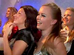 Drunk Sex Orgy with a Dozens of Beautiful European Sluts