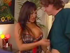 Brunette Slut With Big Tits Shows Off Her Fucking Skills
