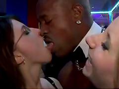 Cock Sucking Action in the Dance Floor