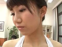 Hot ass Japanese nurses enjoy having sex with a lucky dude