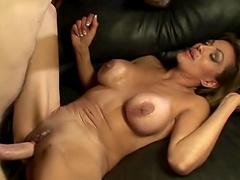 Cock hungry MILF Sophia Soleil enjoys getting fucked balls deep