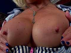 Molly Maracas is home alone and decides to pleasure her pussy