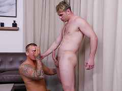 Kinky guys finger each other and have balls deep anal sex