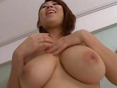 Busty Japanese chick Suzuka Arinaga enjoys getting fucked hard