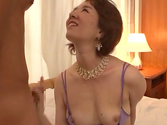 Horny mature chick Kei Marimura gets fucked balls deep by her lover