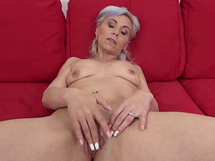 Interracial fucking with natural boobs blonde babe Kathy White