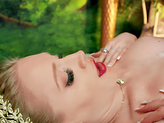 Interracial FFM 3-way with hotties Amari Anne and Emma Starletto