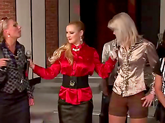 Lesbian Mud Wrestling Contest