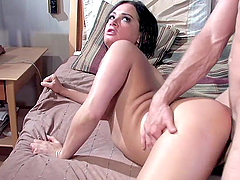 A Hard Fuck Around The House With A Hot Brunette