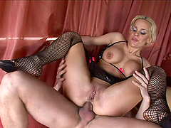 A Rough Fuck For A Kinky Blonde Babe