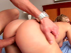 A Massive Dick For A Gorgeous Blonde