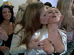VIP Orgy With Hot Ladies In A Party Clip