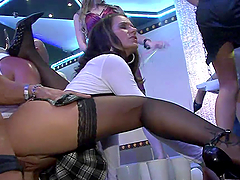 Boosed Hotties get Fucked Hard In A Party