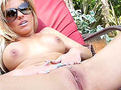 A Face Full Of Cum After A HArd Fuck For A Hot Blonde