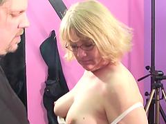 Horny Mature Hottie Blows A Big Cock