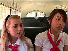 Horny Teacher Has A Threesome With Two Naughty Students