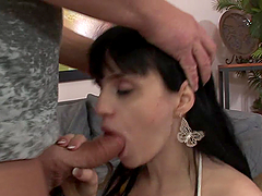 Rough Anal Pleasure For A Busty Brunette