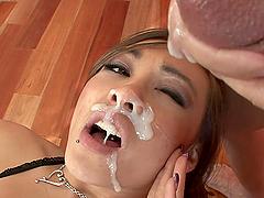 Rough Sex With A Big Cock For A Teen Latina