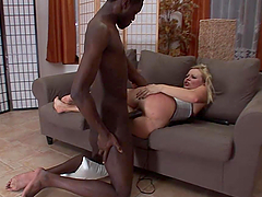 A Big Black Cock For A Blonde Milf
