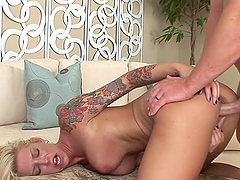 Gorgeous Blonde Loves Rough Sex