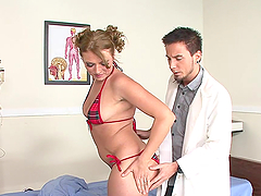 Babe In A Bikini Is Fucked By her Doctor