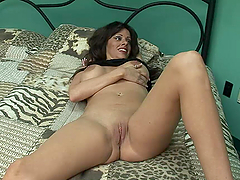 Horny Mom Plays With Her Bald Pussy