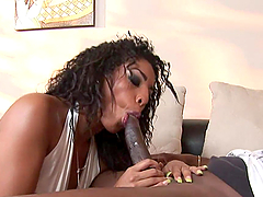 Intense Moaning From An Ebony Babe An A Rough Anal Scene