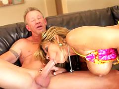 Brutal Big Cock Sex For A Busty Blonde