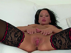 Hot Fisting Fun With For A Horny Brunette