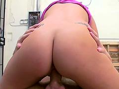 A Hot Bondage Clip With The Sext Brunette Eva Ellington