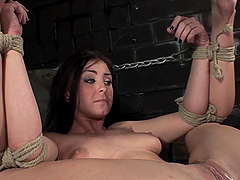 Late Night Bondage Sexcapade With The Hot Jackie Daniels