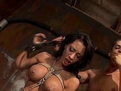 Bondage Passion With The Slutty Babe Mya Nicole