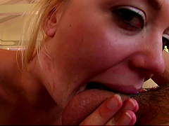 Rough Face Fucking and Anal Pounding for Blonde Annette Schwartz