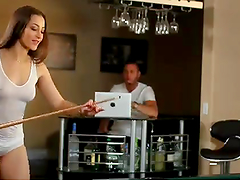 Great Sex With The Hot Dani Daniels After Playing A Game Of Pool