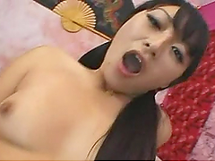 Rough Sex With A huge Cock For The Asian Babe Lena Lang