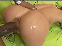 Humongous Big Cock Banging Oiled Up Babe Brooke Bennett