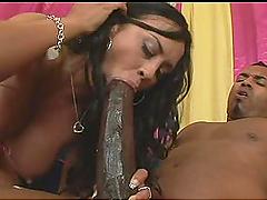 Big Monster Cock Fucks Busty Latina with Round Tits Mariah Milano