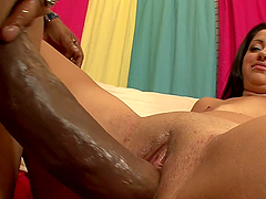 Interracial Pleasure With The Sexy Paris Marie