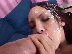 Fully Loaded Cock Leaves a Facial Cumshot on Teen Danni Cole after Sex