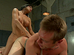 Hot Bondage Sex With A Sexy Shemale